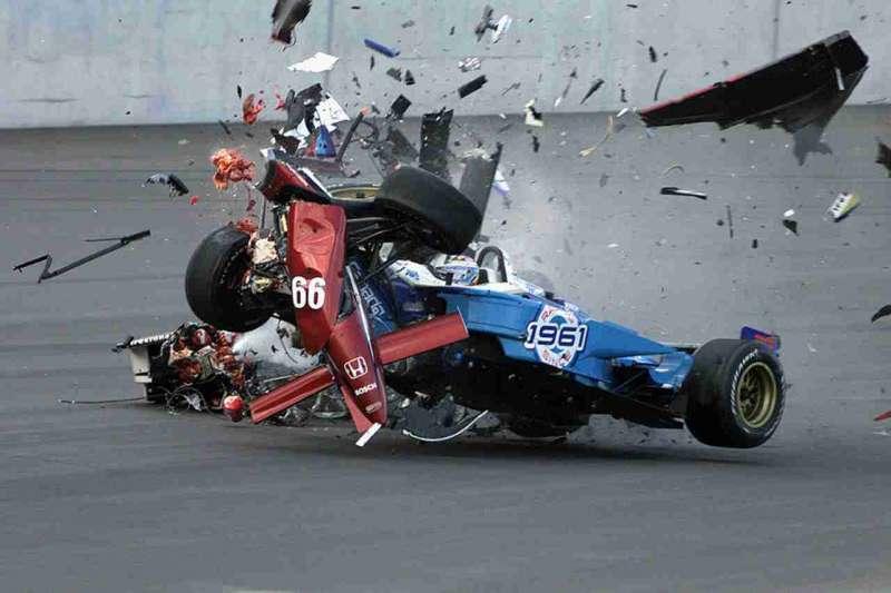 alex zanardi incidente sul circuito di lausitzring nel 2001