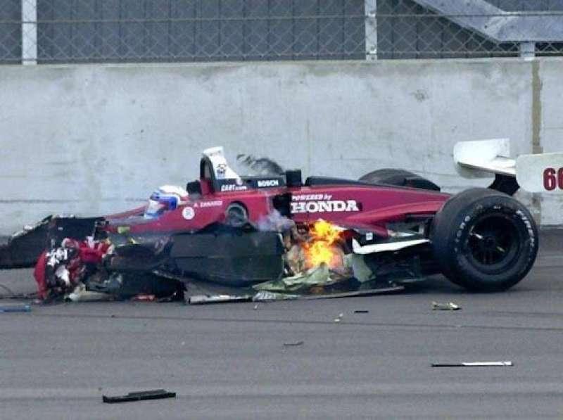 alex zanardi incidente sul circuito di lausitzring nel 2001 6