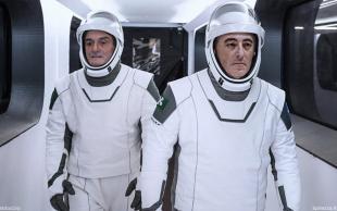 Attilio Fontana e Giulio Gallera mejo di Bob Behnken e Doug Hurley di Space x by lughino