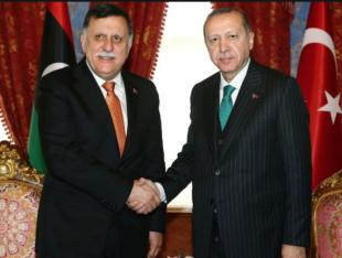 Erdogan Fayez al-Sarraj