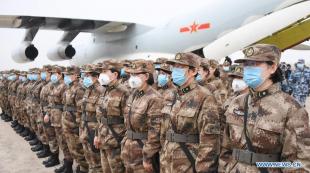 esercito cinese coronavirus