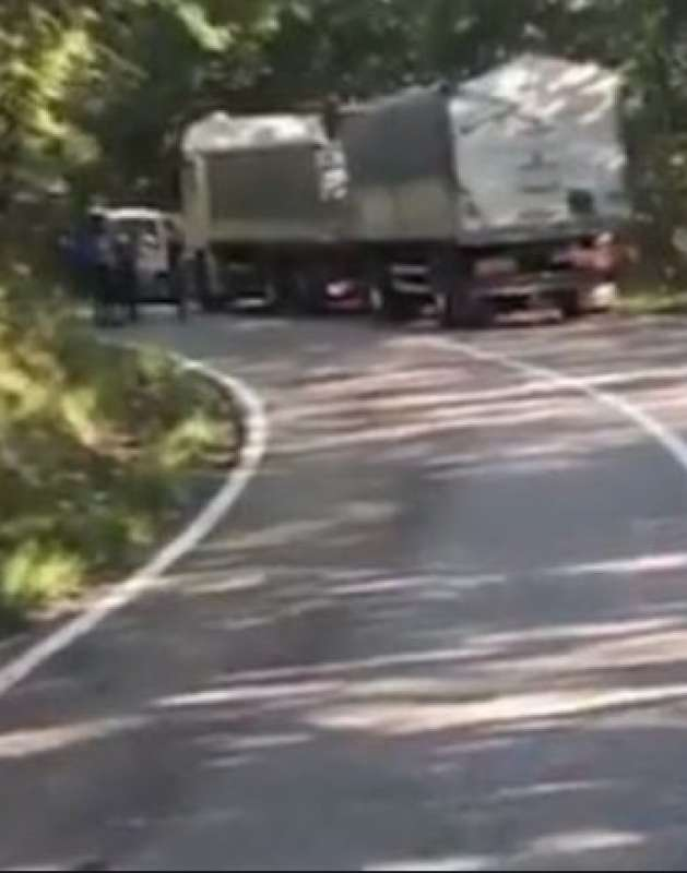 incidente alex zanardi il camion
