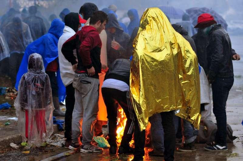 la rotta balcanica dei migranti 1