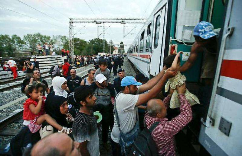 la rotta balcanica dei migranti