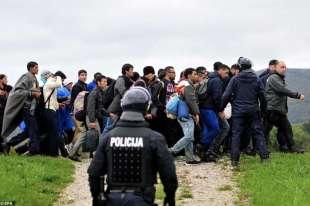 la rotta balcanica dei migranti1