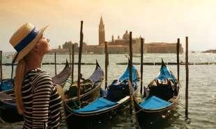 turista russa a venezia