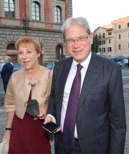 claudio de vincenti e moglie foto di bacco