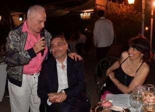 edoardo vianello col nipote andrea e la moglie francesca ceci foto di bacco