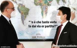 ENRICO LETTA GIUSEPPE CONTE BY OSHO