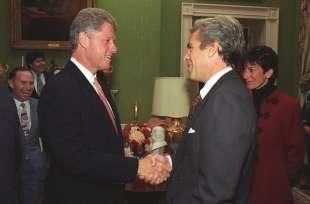 Epstein e Bill Clinton