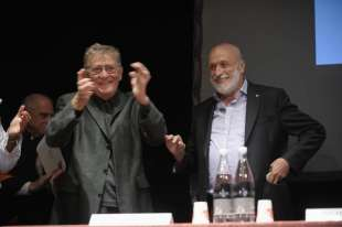 Ermanno Olmi e Carlo Petrini