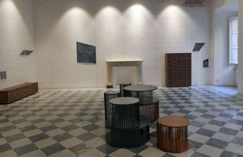 interni della galleria contemporary cluster foto di bacco (1)