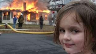 la foto di disaster girl scattata nel 2005