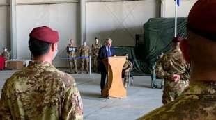 lorenzo guerini fine della missione italiana in afghanistan