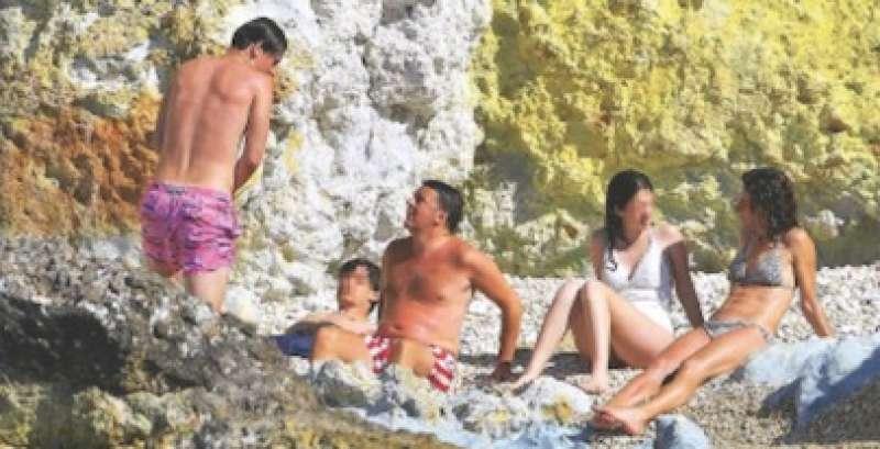 matteo renzi in vacanza con la famiglia 4