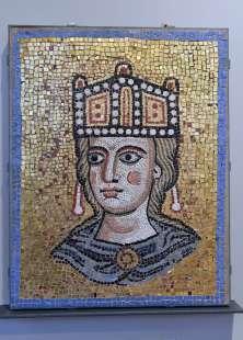 mosaico del museo barracco foto di bacco
