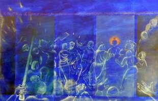 opere in mostra di corrado veneziano foto di bacco (5)