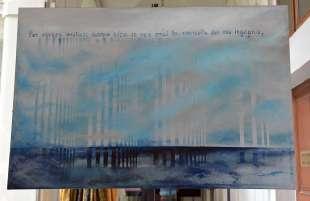 opere in mostra di corrado veneziano foto di bacco (7)