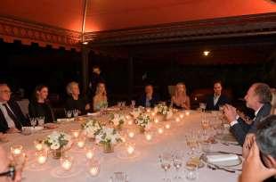 ospiti a tavola per la special edition del cenacolo a roma foto di bacco (1)