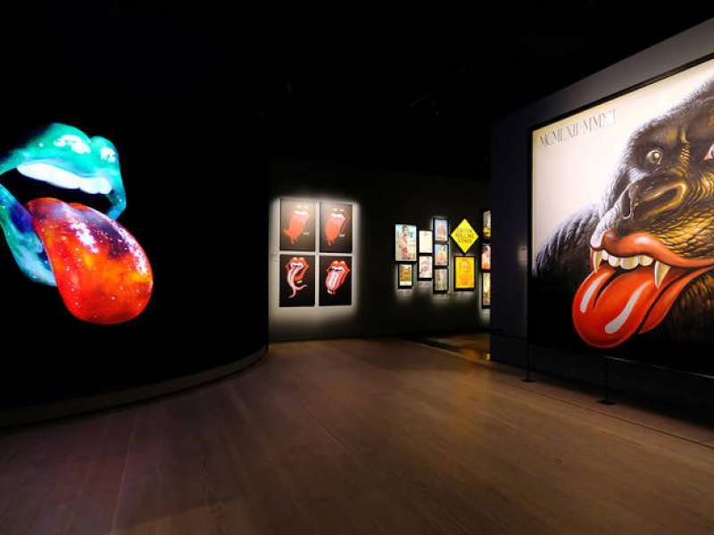 rolling stones mostra unzipped 8