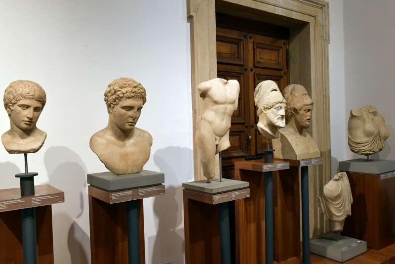 sculture del museo barracco foto di bacco (6)