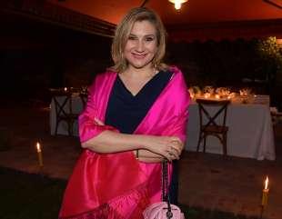 serena bortone in rosa foto di bacco