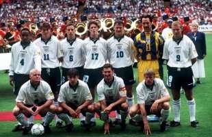 squadra inghilterra euro 96