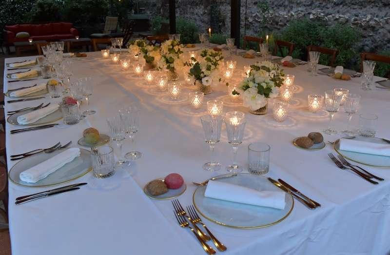 tavolo per la cena