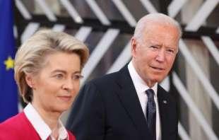 Ursula Von Der Leyen Joe Biden