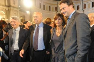 Ferruccio de Bortoli Paolo Mieli Scott Jovane e Laura Donnini, amministratore delegato di RCS Libri.