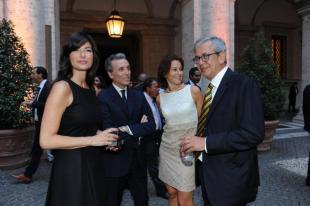 Ilaria Damico Vittorio Grilli Alessandra Ferruccio e Chicco Testa