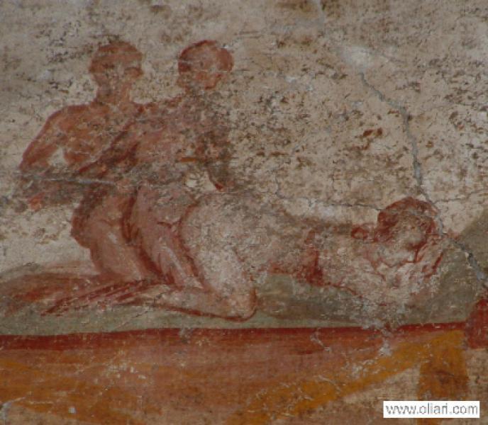 время первой древние эро фрески фото римских борделей почве расширяющихся