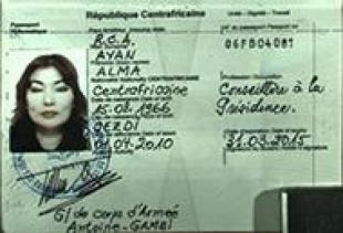 Shalabayeva passaporto