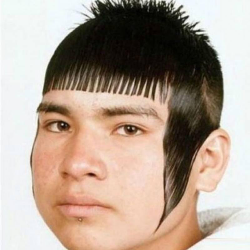 Acconciature capelli bizzarre