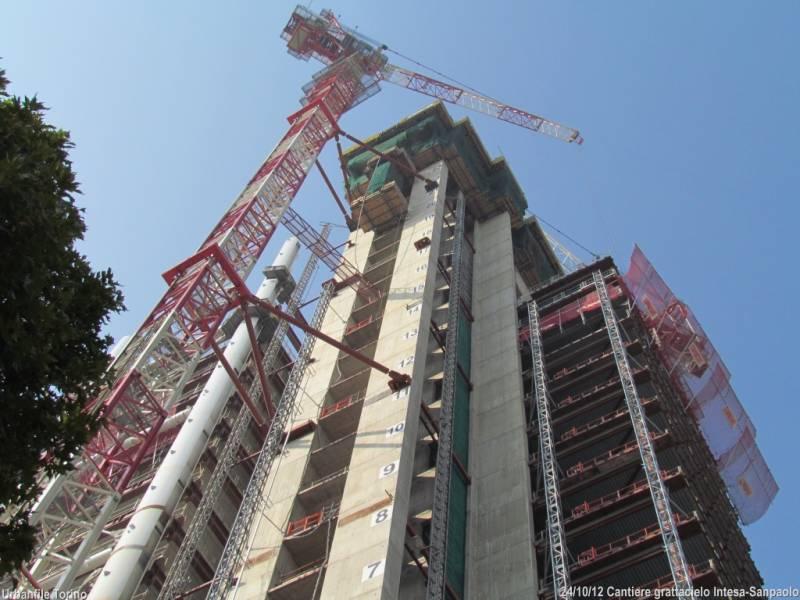 Cantiere grattacielo intesa sanpaolo dago fotogallery for Grattacielo torino fuksas