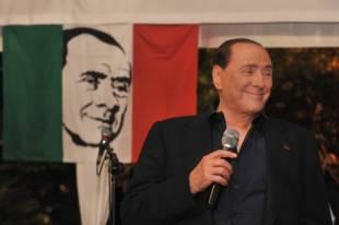 cena fund raising di forza italia silvio berlusconi