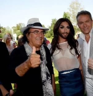 ESC Eurovision Song Contest 2014 - Pagina 14 Conchita-wurst-al-bano-carrisi-e-alfons-haider-a-klagenfurt-572797_tn