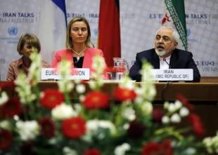 Javad Zarif e Federica Mogherini