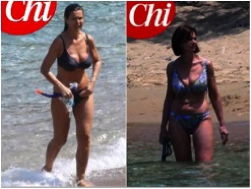 laura boldrini in vacanza in grecia