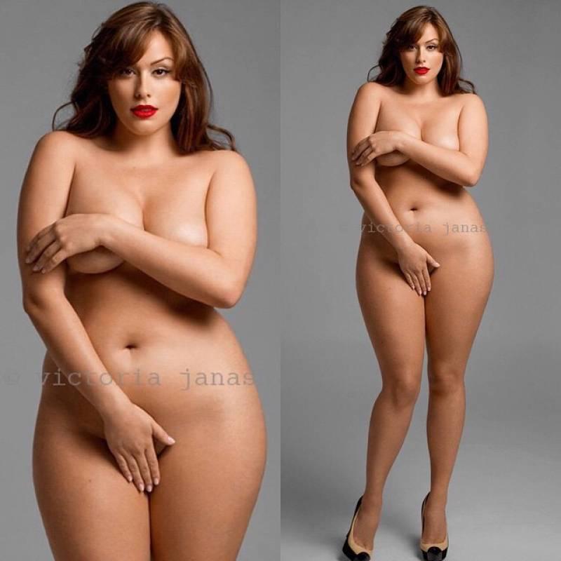 donne nude modella