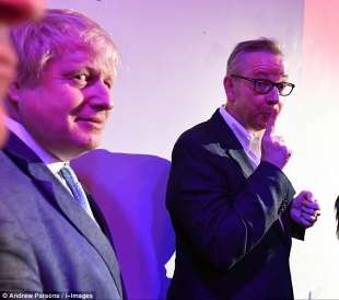 boris johnson michael gove