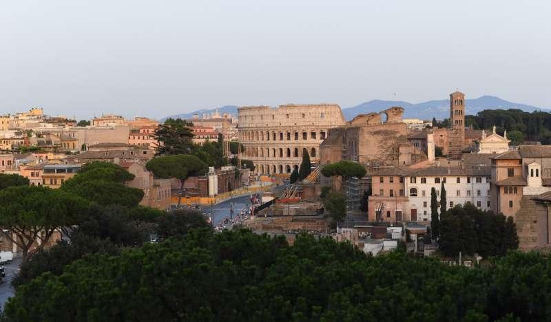 Panorama con vista dalla terrazza del vittoriano - Dago fotogallery