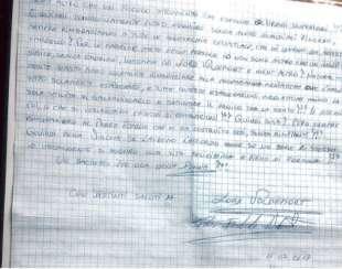 LA LETTERA DI IGOR IL RUSSO A SIMONA PLETTO DI LIBERO QUOTIDIANO