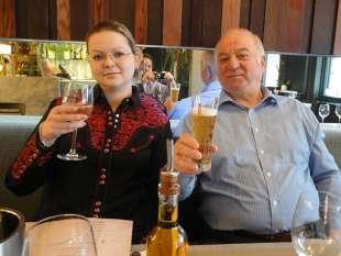 sergei skripal con la figlia yulia