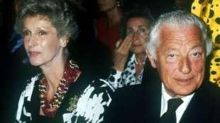 Gianni Agnelli con Marella