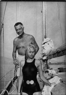 gianni agnelli e heidi von salvisberg-1967