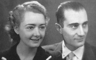 Margarethe de Colins de Tarsienne e Indro Montanelli