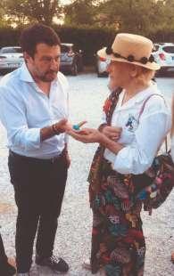 MATTEO SALVINI E SOLANGE