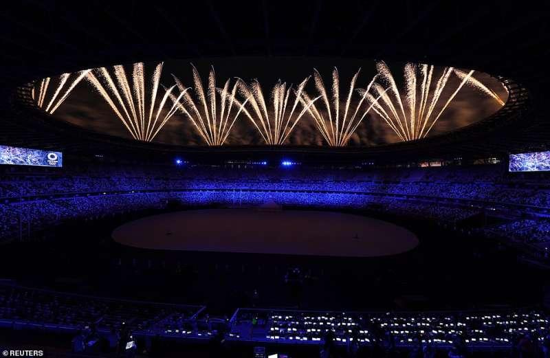 cerimonia apertura olimpiadi tokyo 2020 1