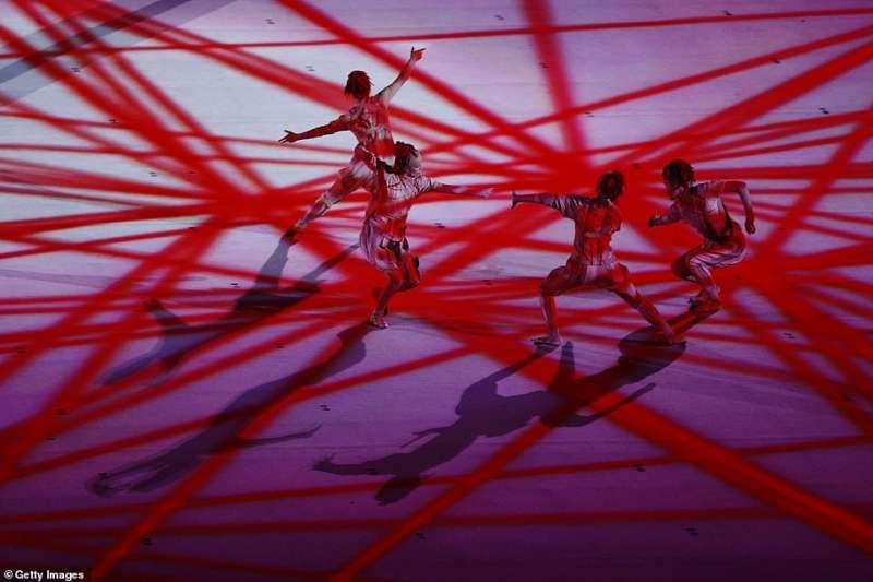 cerimonia apertura olimpiadi tokyo 2020 10